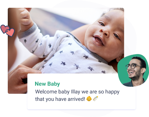 new baby life event