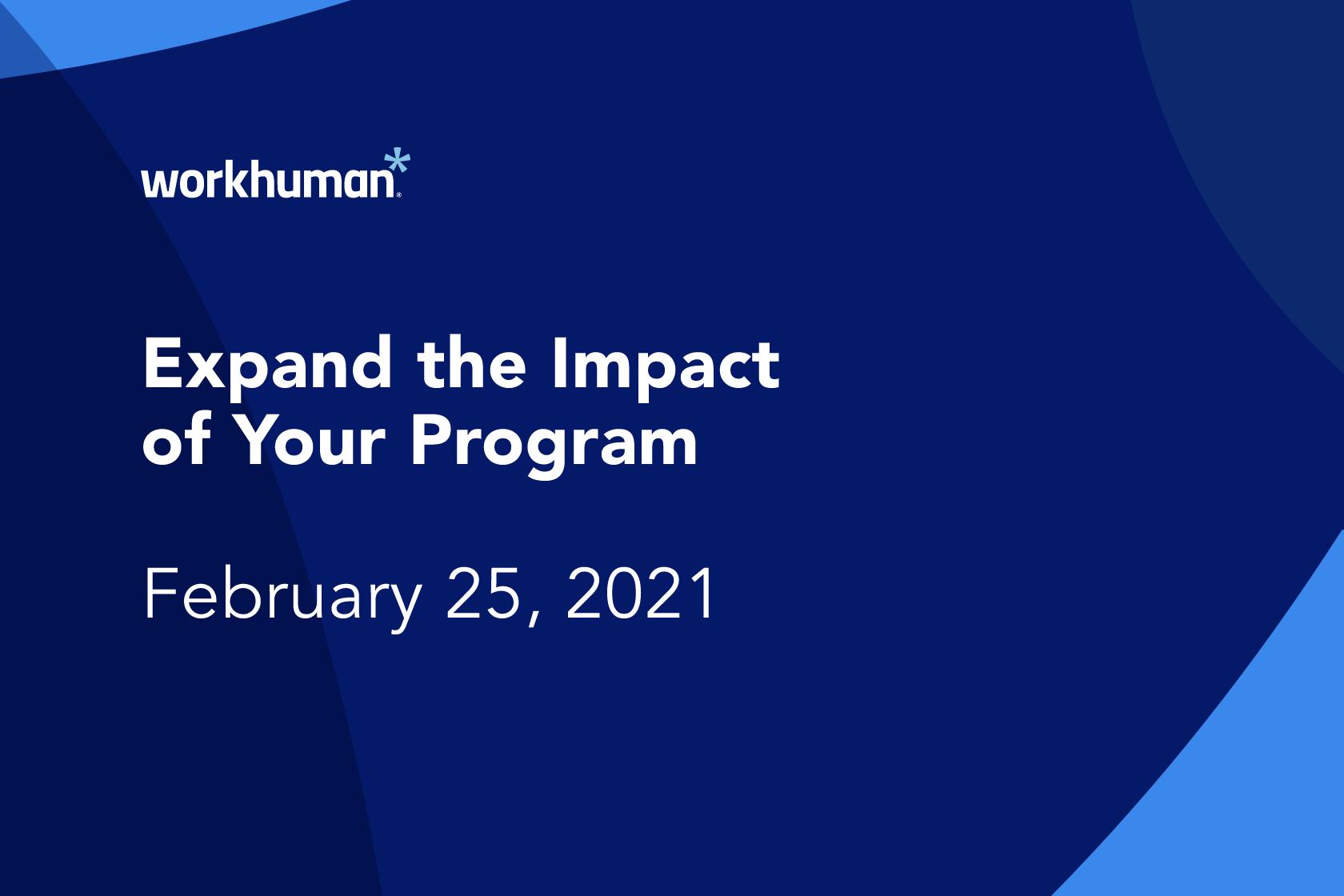 recognition unleashed: unlock your program's potential